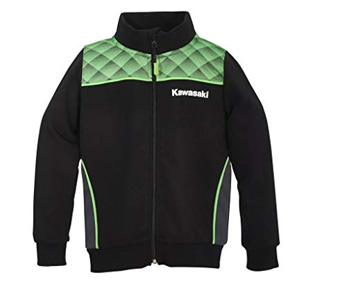 Kawasaki Sports Sweatshirt Jacke Kids (164)