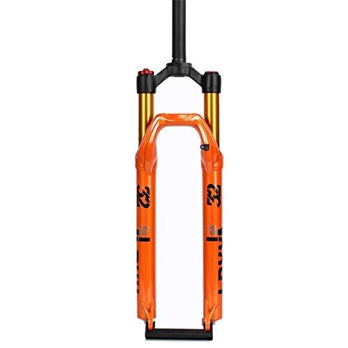 Horquilla de suspensión para Bicicleta, Horquilla Delantera MTB Suspension Air 27,5 29 Pulgadas Bicicleta de montaña Suspensión Delantera Amortiguador de Bicicleta s Rebound Adjus