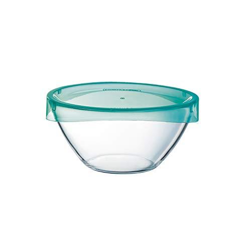 Luminarc ARC G4384 Keep ´n´ Bowl Dose mit Deckel, 1000 ml, Glas, transparent, 1 Stück
