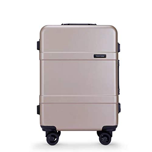 Lyl Travel Suitcase Universal Wheel equipaje Trolley Lock Box, Blue (Azul) - yh5436