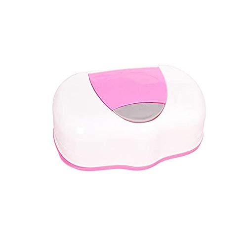 Caja de toallitas para bebé Caja de toallitas para la Boca del bebé Caja de toallitas para bebé de Moda Caja de toallitas húmedas Caja automática de toallitas de plástico Toallitas húmedas