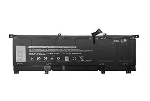 ASKC 8N0T7 Laptop Batteria per DELL XPS 15 9575 P73F001 15-9575-D1605TS 15-9575-D1805TS Precision 5530 2-in-1 Series Notebook 08N0T7 TMFYT 0TMFYT 11.4V 75Wh 6-Cell