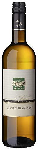 Württemberger Wein Heilbronner Gewürtraminer QW Halbtrocken (1 x 750 ml)