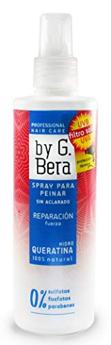 Spray para peinar REPARACIÓN HidroQueratina 250 ml. By G. Bera