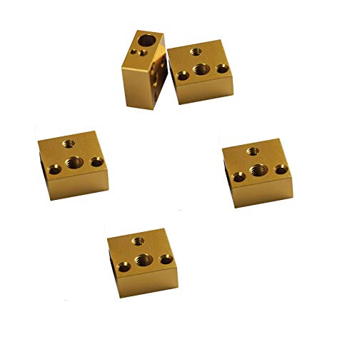 5PCS Aluminum Heating Block for MK7 MK8 3D Printer