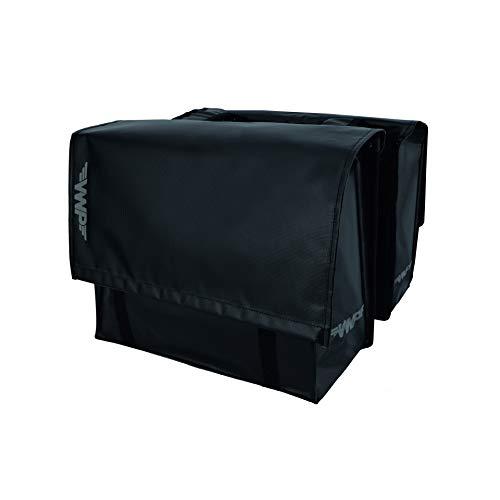 VWP Bolsa doble Bisonyl46 litros, color negro