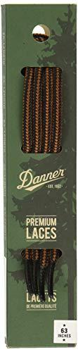 """Danner Laces 63"""" Shoelaces, Black/Tan, Medium"""