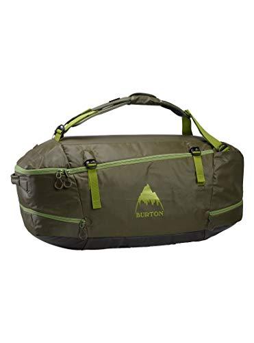 Burton Multipath Duffle Bag 90L mit gepolsterten Trägern und Tragegriffen, Innentaschen und Tarpgefütterten Taschen, Herren, Keef-Beschichtung, One Size
