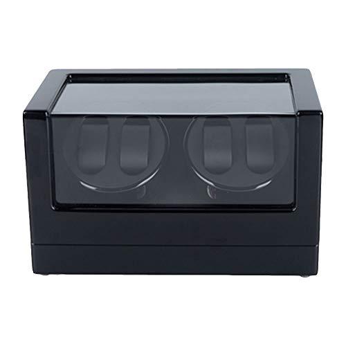 Wumudidi Mire la Curva 4 + 0 del Reloj mecánico máquina de Bobina automática de la Caja de la Caja del Viento de la Bobina del Reloj mecánico,A