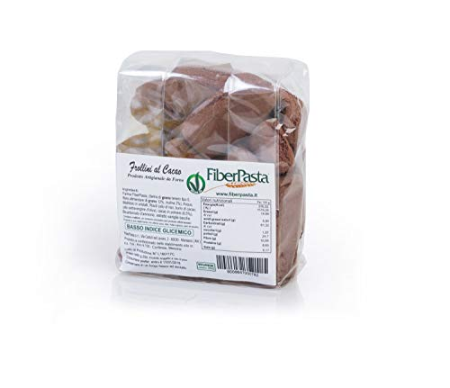 FiberPasta Frollini Al Cacao a Basso Indice Glicemico da 250 g