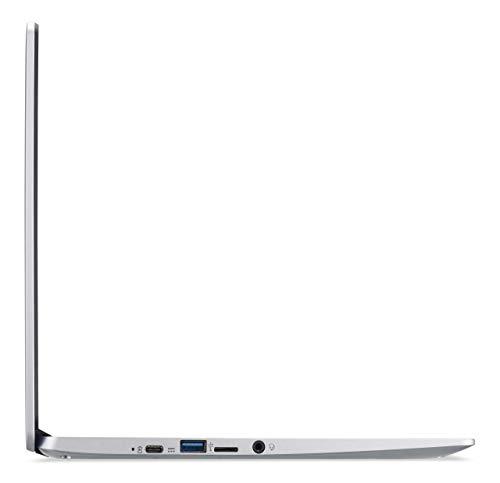 Acer Chromebook 314 (14 Zoll Full-HD matt, 19,7mm flach, extrem lange Akkulaufzeit, schnelles WLAN, MicroSD Slot, Google Chrome OS) Silber (DE Tastatur: QWERTZ) - 6