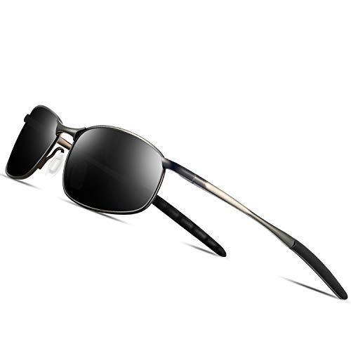 Metal Sports Polarized Sunglasse...