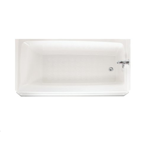 Swanstone BT03060RD.010 Veritek Right-Drain Alcove Bathtub, 60-in L X 30-in H X 16-in H, White