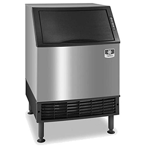 Manitowoc UDF0240A NEO 26-Inch Air-Cooled Dice Undercounter Ice Machine with 90-Pound Bin, 115V, NSF