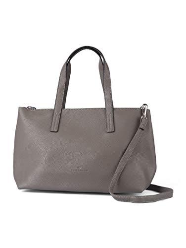 TOM TAILOR Damen Taschen & Geldbörsen Shopper Marla grey,OneSize