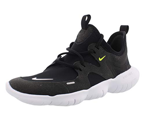 Nike Free RN 5.0, Sneaker Unisex-Child, Black/White-Anthracite-Volt, 35.5 EU