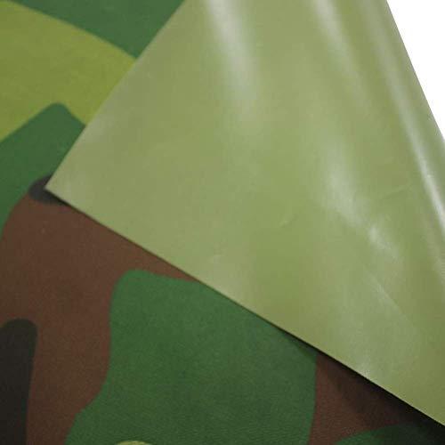 Housses for Salons de Jardin Camouflage Nappe Extérieur Patio Feuille Bâche Tissu Oxford Anti-UV Crème Solaire Étanche À La Poussière, 28 Tailles ALGFree (Color : A, Size : 200x100x200cm)
