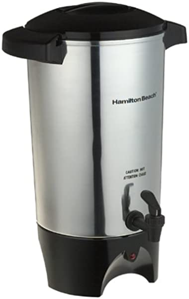 Hamilton Beach 45 Cup Coffee Urn And Hot Beverage Dispenser Silver 40515R