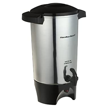 Hamilton Beach 40515R 45 -Cup Coffee Urn, Silver