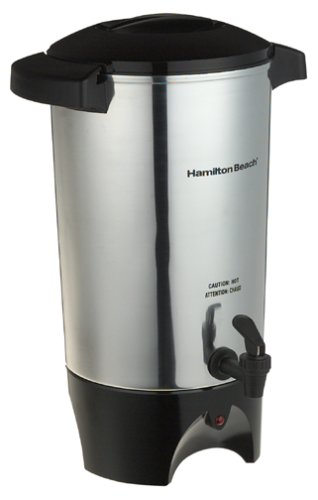 Hamilton Beach 45 Cup Coffee Urn and Hot Beverage Dispenser