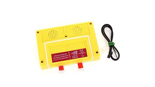 STOP & GO Ultraschall Marder-Abwehrgerät 07533 Batteriebetrieb Marderschreck 4B