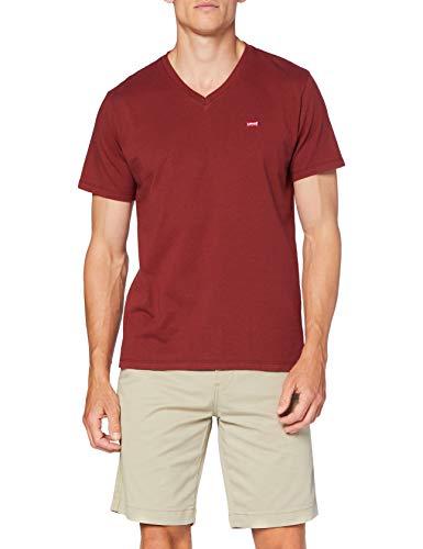 Levi's Orig HM Vneck Camiseta, Puerto, S para Hombre