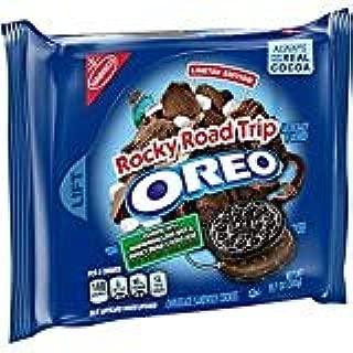 Oreo Seasonal Rocky Road Trip Chocolate Sandwich Cookies, 10.7 Oz (1 pack)