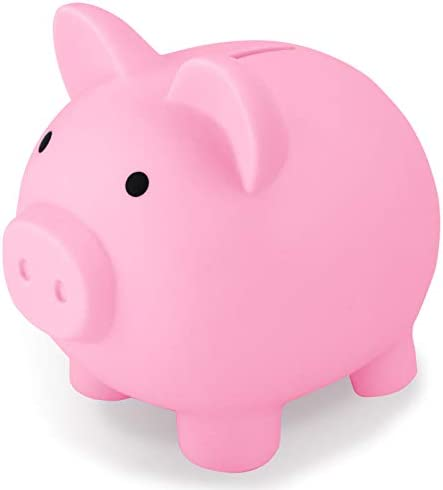 Sikaye Cute Piggy Bank Best Gift for Kids Children Coin Bank Plastic Pig Money Bank Save for product image