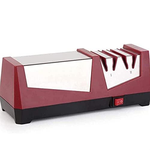WGHH Sacapuntas de cuchillo eléctrico de cocina doméstica, sacapuntas automáticos de ángulo...