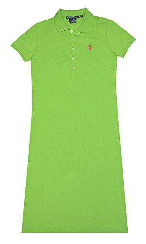 Ralph Lauren Sport Womens Mesh Polo Dress (Racing Green, X-Small)