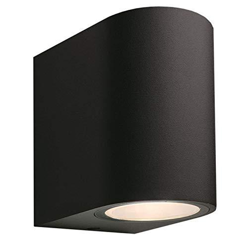 Brilliant Givlus - Lámpara de pared led (aluminio), color negro