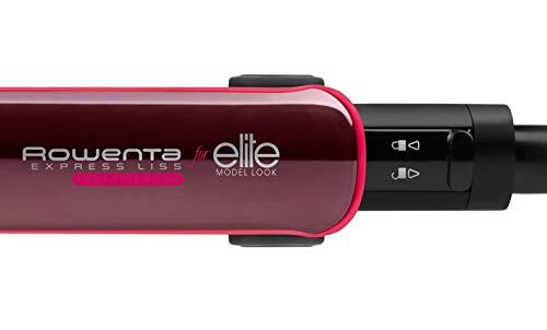 Rowenta Express Liss Elite SF4012 Plancha de Pelo con recubrimiento de...