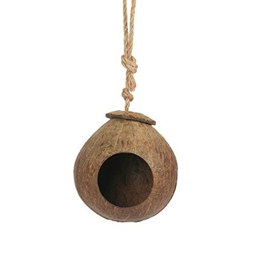 Chou 1 Pc Perroquet Noix De Coco Hamac Nid D'Oiseau pour Suspendu Cage