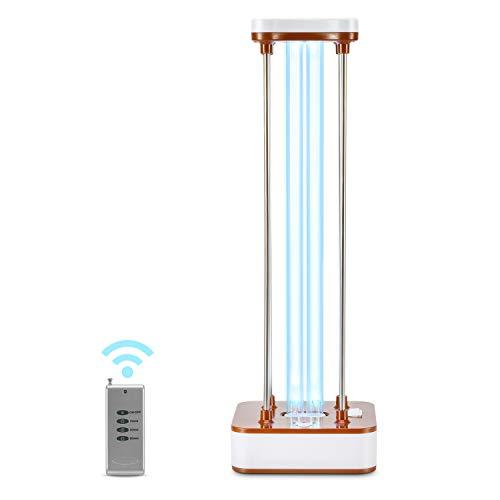 UV Germicidal Lamp, UV Disinfection Light UV Sterilization Lamp Ultraviolet Germicidal Lamp UV Light Sanitizer for Living Room Bathroom Kitchen 110V