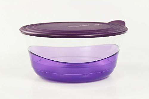 Tupperware Eleganzia 2,3 L violett Schale Schüssel servieren Servierschale