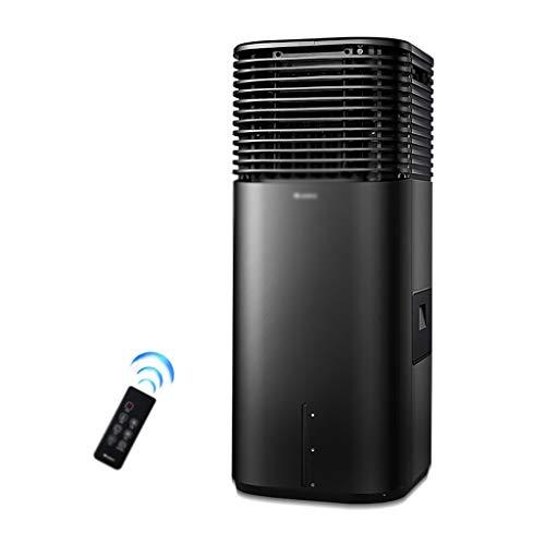 Kühler Innenluftkühler Mobile Tragbare Klimaanlage Industrieluftkühler (Color : Black, Size : 39 * 35 * 87cm)
