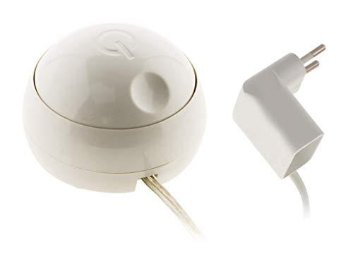 Variateur d'intensité lumineuse universel compatible LED - Blanc