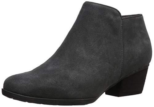 Blondo Women's Villa Waterproof Ankle Boot, Dark Grey Suede, 9.5 M US