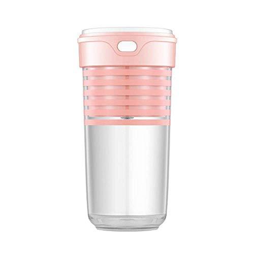 Mini Juicer Grado alimenticio como material de carga USB Pequeño inalámbrico que lo acompaña a la taza de jugo eléctrico de la taza de jugo eléctrico adecuado para el viaje de camping de deportes de o