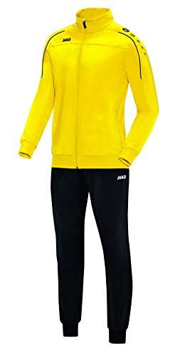 JAKO Herren Trainingsanzug Polyester Classico, citro, L, M9150