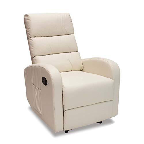 Novohogar Sillón de Masaje Comfort con Sistema de Calor Lumbar y 10 Motores Que Cubren Las 4 Zonas...
