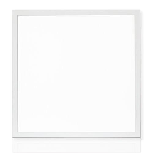 Linnuo LED Panel Deckenleuchte Pendelleuchten ultra slim 8,5mm 620x620mm 1200x300mm 40W 45W 3600lm 3800lm Energieklasse A+ Warmweiß Neutralweiß Kaltweiß mit Trafo (Warmweiss 620x620mm)