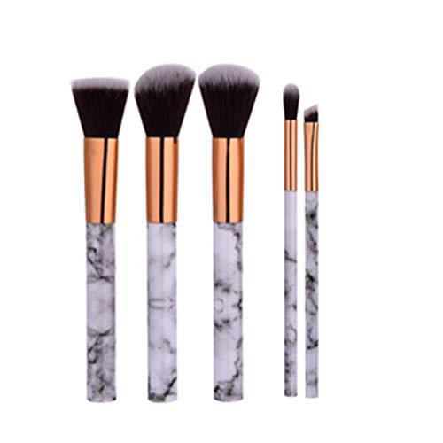 MEISINI Maquillage Pinceaux Set Poudre Ombre À Paupières Contour Blush Cosmétique Texture Maquillage Pinceau, 5Pcs Set 2