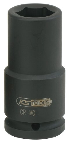 "KS Tools 515.1424 3/4"" Sechskant-Kraft-Stecknuss, lang, 24mm"