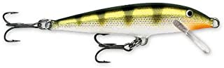 Rapala Original Floater 18 Fishing lure, 7-Inch, Yellow Perch