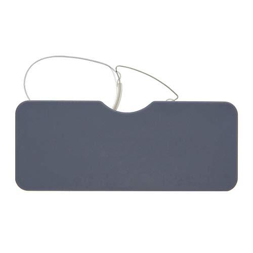 DIDINSKY Gafas de lectura sin patillas graduadas para hombre y mujer transparentes. Gafas de presbicia para hombre y mujer retro o vintage...