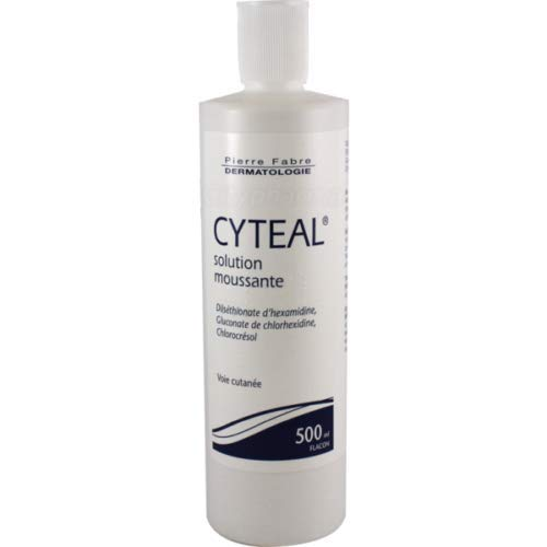 Pierre Fabre ●スーパーSALE● セール期間限定 人気商品 Cyteal antiseptic 500ml 17oz solution foaming