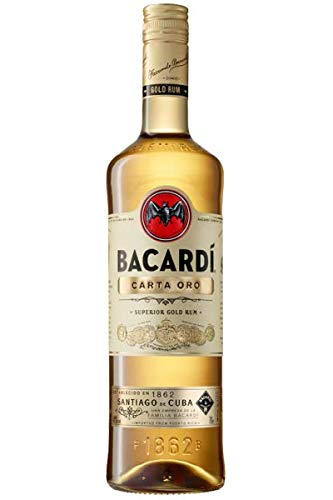 Bacardi Carta Oro Rum 0,70 lt.