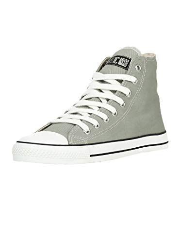 Ethletic Unisex Sneaker_hi Fair Trainer White Cap urban Grey   just White 47 Fair   Vegan   Nachhaltig