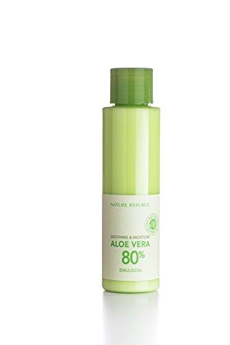 Nature Republic Soothing & Moisture Aloe Vera 80% Emulsion 160ml [Misc.]